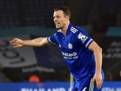 Jonny Evans has been sidelined by a calf issue (Rui Vieira/PA).