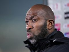 Darren Moore will take charge of Sheffield Wednesday for the first time on Wednesday evening (Zac Goodwin/PA)