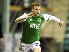 Hibernian's Chris Cadden (Ian Rutherford/PA)