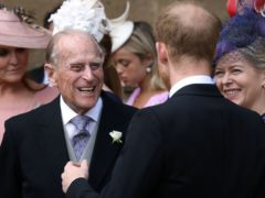 The Duke of Edinburgh in part inspired the royal baby's middle name (Steve Parson/PA)