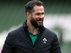 Ireland head coach Andy Farrell was coy on the possibility of being involved with the British and Irish Lions this summer (Brian Lawless/PA)