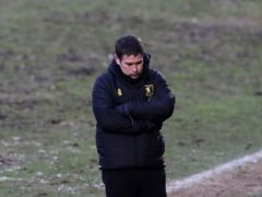 Nigel Clough was frustrated after Mansfield's defeat (Gareth Fuller/PA)