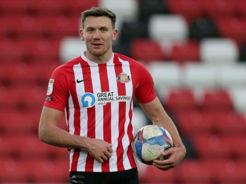 Charlie Wyke was Sunderland's matchwinner against Swindon (Richard Selllers/PA)