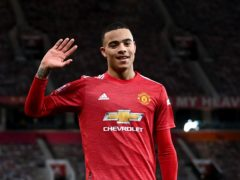 Manchester United's Mason Greenwood is in England Under-21s' squad for Euro 2021 (Laurence Griffiths/PA)