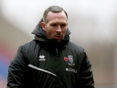Michael Appleton's side are third in League One (Tim Markland/PA)