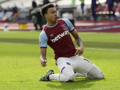 Jesse Lingard is set to return for the Hammers (Kirsty Wigglesworth/PA)