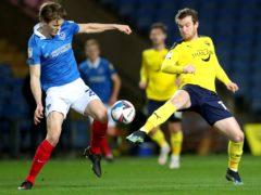 Sam Winnall, right, will miss out for Oxford (David Davies/PA)