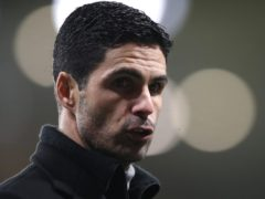 Mikel Arteta believes Arsenal have been put at a disadvantage by UEFA's fixture rescheduling (Nick Potts/PA)