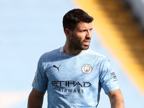 Sergio Aguero is battling to rediscover his best (Martin Rickett/PA)