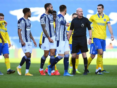 Referee Lee Mason was at the centre of controversy last week (Clive Mason/PA)