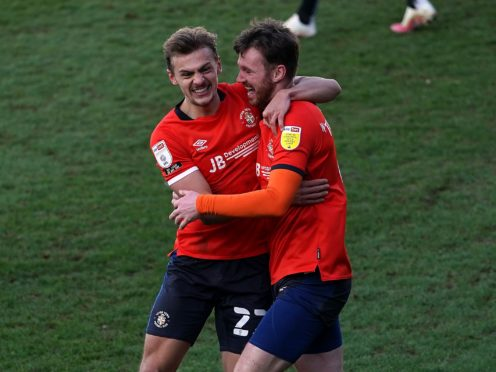 Ryan Tunnicliffe scored for Luton (Tess Derry/PA)