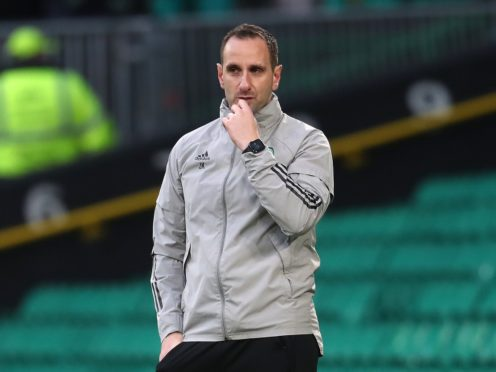 Interim boss John Kennedy insists Celtic's focus is their next match at Dundee United (Andrew Milligan/PA)