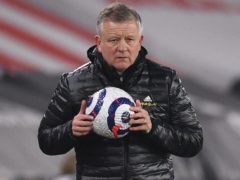 Chris Wilder thinks Sheffield United are capable of making an immediate return to the Premier League if they are relegated (Oli Scarff/PA)