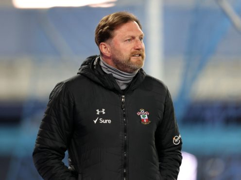 Ralph Hasenhuttl is optimistic results will improve for Southampton (Clive Brunskill/PA)