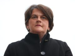 Northern Ireland First Minister Arlene Foster (Liam McBurney/PA)