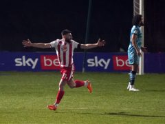 Danny Newton scored twice as Stevenage beat Forrest Green (John Walton/PA)