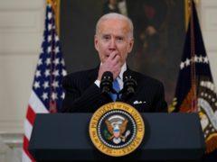 President Joe Biden speaks (Evan Vucci/AP)