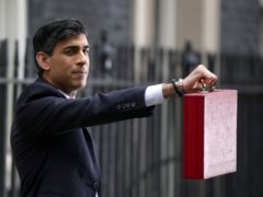 Chancellor of the Exchequer Rishi Sunak outside 11 Downing Street, London (Aaron Chown/PA)
