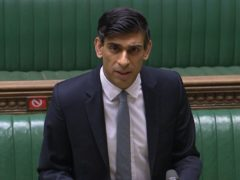 Chancellor Rishi Sunak delivered his Budget to the House of Commons on Wednesday (PA)
