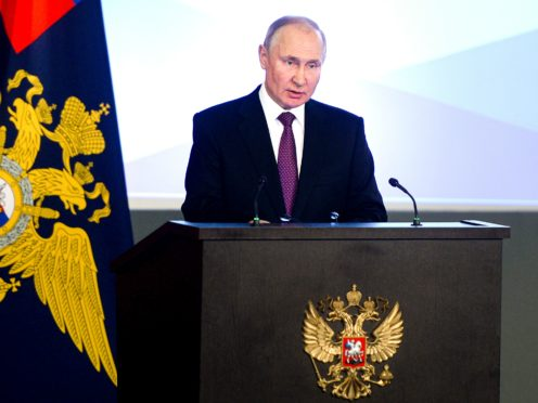 Russian president Vladimir Putin (Sputnik, Kremlin Pool Photo via AP)