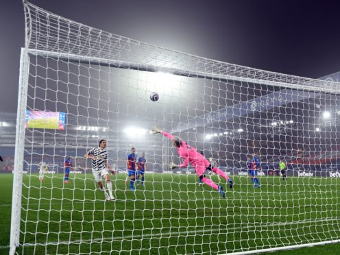 Crystal Palace goalkeeper Vicente Guaita kept a clean sheet against Manchester United (Mike Hewitt/PA)