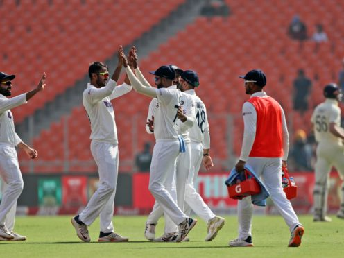 England struggled again in India (Aijaz Rahi/AP)