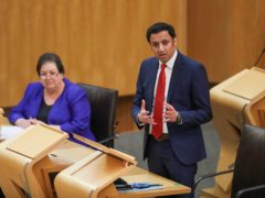 Anas Sarwar has called for a cancer 'catch-up' plan (Russell Cheyne/PA)
