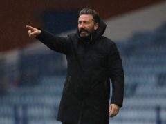 Derek McInnes saw his side fail to score for an eighth time in nine games (Andrew Milligan/PA)