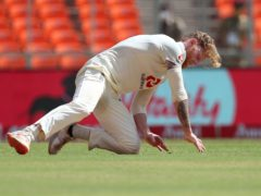 Ben Stokes was floored by his efforts on day two of the fourth Test (Aijaz Rahi/AP)