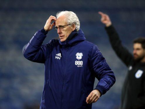 Mick McCarthy extended his unbeaten run as Cardiff boss (Tim Goode/PA)