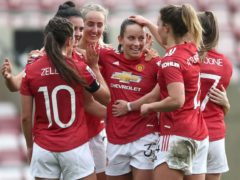 Manchester United Women are heading to Old Trafford for the first time (Tim Goode/PA)