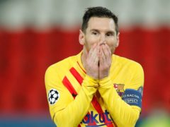 Lionel Messi scored a screamer but also missed a penalty (Christophe Ena/AP/PA)