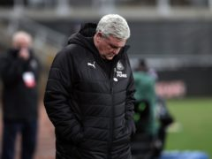 Newcastle head coach Steve Bruce has faced calls to resign or be sacked (Richard Sellers/PA)