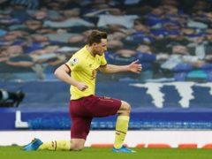 Chris Wood scored the opening goal as Burnley won at Everton (Jon Super/PA)