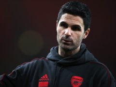 Mikel Arteta was unhappy with his side's performance (Nick Potts/PA)