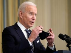 US President Joe Biden has said New York governor Andrew Cuomo should resign if the state attorney general's investigation confirms the sexual harassment allegations against him (Patrick Semansky/AP)