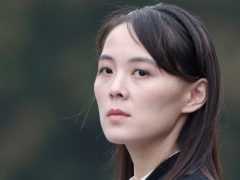 Kim Jong Un's sister has criticised the United States and South Korea for holding military exercises (Jorge Silva/Pool/AP)