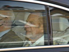 The Duke of Edinburgh leaves King Edward VII's Hospital in London
