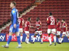 Jordan Storey's own goal put Middlesbrough ahead (Owen Humphreys/PA)