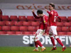 Jake Forster-Caskey (left) netted Charlton's second goal (John Walton/PA)