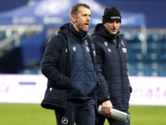 Gary Rowett (left) was frustrated by poor defending from his Millwall side (Yui Mok/PA)