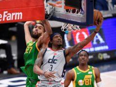 Washington Wizards guard Bradley Beal top scored against the Jazz (Nick Wass/AP)