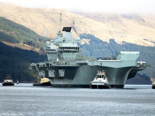 HMS Queen Elizabeth will head to the Indian Ocean and East Asia later this year (LPhot Pepe Hogan/MoD)