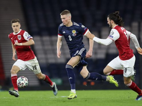 Scott McTominay was back in midfield against Austria (PA)