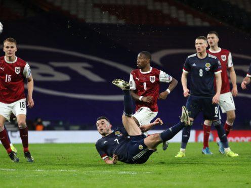 John McGinn earned a point for Scotland (Jane Barlow/PA)