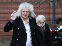 Brian May and Anita Dobson gave evidence on Thursday (Jonathan Brady/PA)
