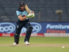 England captain Jos Buttler saw his side come up just short in the series decider (Rafiq Maqbool/AP)