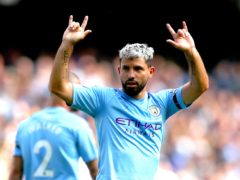 Sergio Aguero is set to leave Manchester City at the end of the season (Nick Potts/PA)