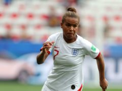 Nikita Parris is missing from the England squad following a coronavirus outbreak at her club Lyon (Richard Sellers/PA)