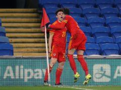 Daniel James celebrates his Wales winner against the Czech Republic (Nick Potts/PA)